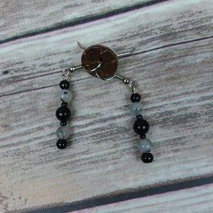 NWT Semi-precious Stone Earrings